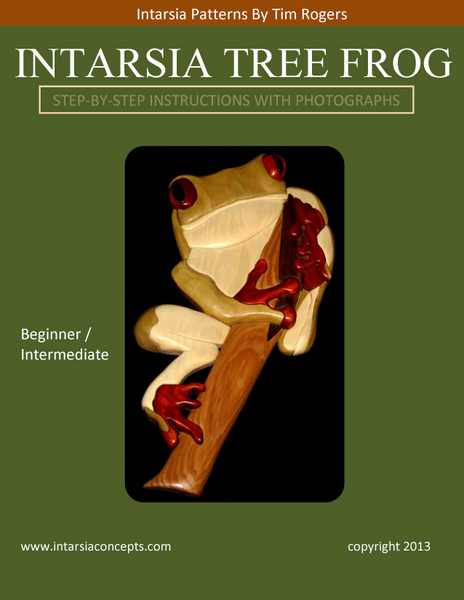 Tree Frog Booklet